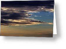 Cloud Abstract Greeting Card