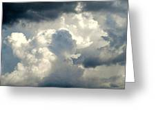 Cloud Drama Greeting Card by Dawn Vagts