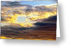 Cloud Finds Day Greeting Card by Q's House of Art ArtandFinePhotography