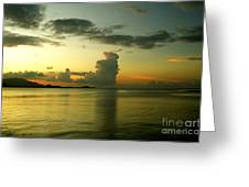 Cloud Formation Greeting Card