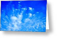 Cloud Formations I Greeting Card