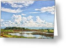 Cloud Formations Greeting Card