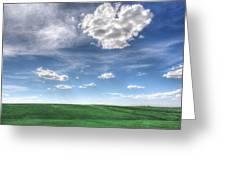 Cloud Heart Greeting Card