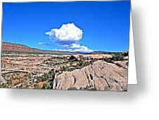 Cloud In Colorado Greeting Card