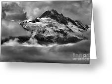 Cloud Layers Over Tantalus Greeting Card