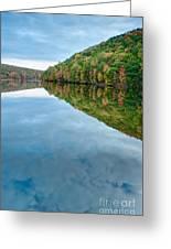 Lake - Cloud Mirror Greeting Card