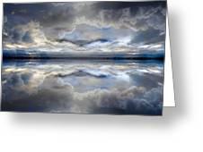 Cloud Mirror Greeting Card
