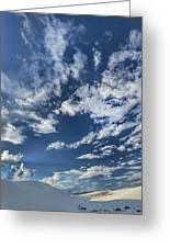 Cloud Puffs Greeting Card