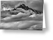 Cloud Rush Over Tantalus Greeting Card