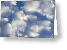 Cloud Series 4 Greeting Card