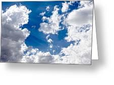 Cloud Study 3852 Greeting Card