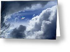 Cloud Surfing Greeting Card
