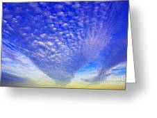 Cloud Tails At Sunrise Greeting Card