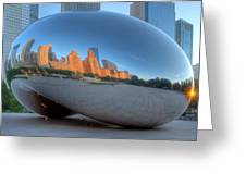 Cloudgate City Greeting Card