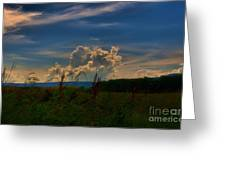Clouds # 1 Greeting Card