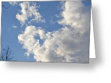 Clouds 7 Greeting Card