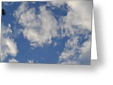 Clouds 8 Greeting Card