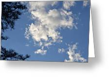 Clouds 9 Greeting Card