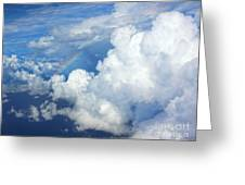 Clouds And Rainbow Greeting Card