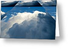 Clouds Ascending Greeting Card