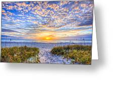Clouds At Dawn Greeting Card