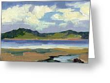 Clouds At Vashon Island Greeting Card