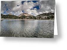 Clouds Form Over Lake Helen Greeting Card
