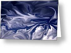 Clouds In Chaos Greeting Card