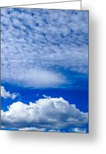 Layers Of Clouds Greeting Card