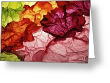Clouds Of Colors Greeting Card