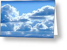 Clouds Of Glory Greeting Card