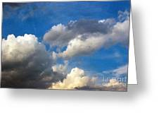 Clouds Of Today Greeting Card