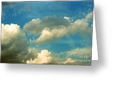 Clouds Of Tomorrow Greeting Card
