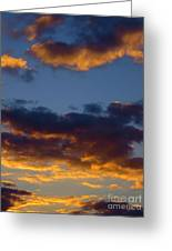 Clouds Of Tranquility. Greeting Card