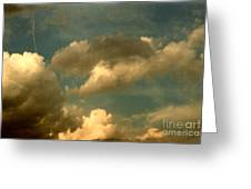 Clouds Of Yesterday Greeting Card