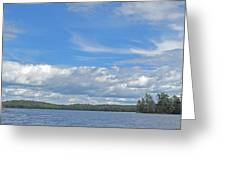 Clouds Over Algoma Greeting Card