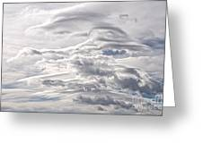 Clouds Over Caughlin Ranch Greeting Card
