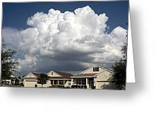 Clouds Over Clermont Greeting Card