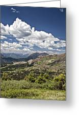 Clouds Over Crested Butte Greeting Card