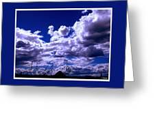 Clouds Over Gavilan Peak Greeting Card
