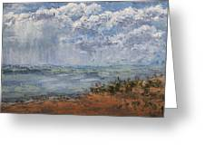 Clouds Over Lake Michigan Greeting Card
