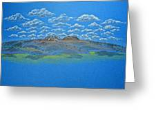 Clouds Over Lassen Greeting Card
