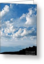 Clouds Over New Mexico Greeting Card