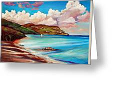 Clouds Over Paradise Greeting Card