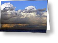 Clouds Over Portsmouth Greeting Card