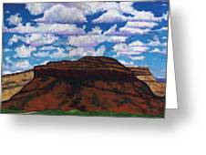Clouds Over Red Mesa Greeting Card