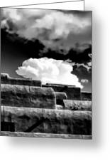 Clouds Over Santa Fe Greeting Card