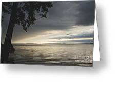 Clouds Over Seneca Lake Greeting Card