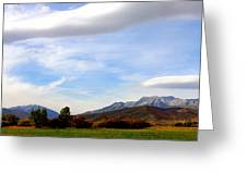Clouds Over Timp Greeting Card