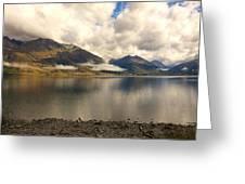 Clouds Over Wakatipu #1 Greeting Card